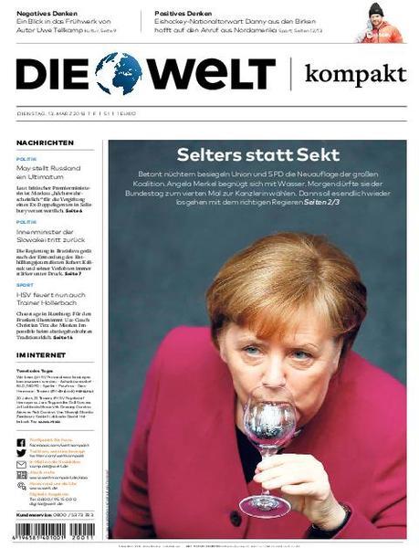 : Die Welt Kompakt Frankfurt 13 Maerz 2018