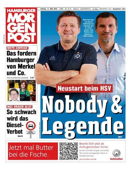 : Hamburger Morgenpost 13 Maerz 2018