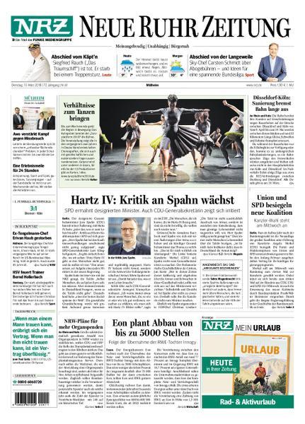 : Nrz Neue Ruhr Zeitung Muelheim 13 Maerz 2018