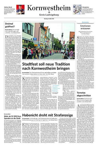 : Kornwestheim und Kreis Ludwigsburg 13 Maerz 2018