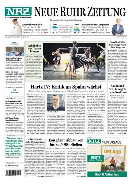 : Nrz Neue Ruhr Zeitung Essen Ruettenscheid 13 Maerz 2018