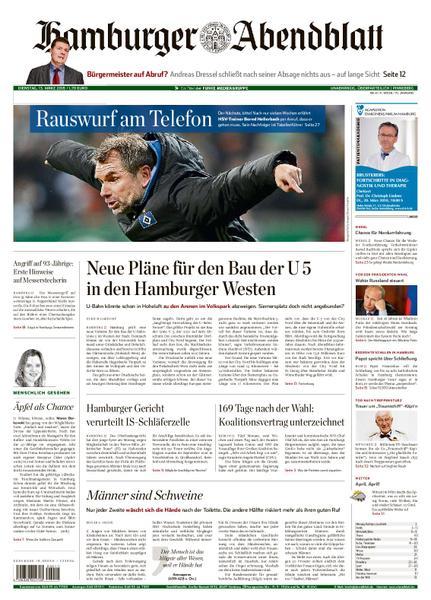 : Hamburger Abendblatt Pinneberg 13 Maerz 2018