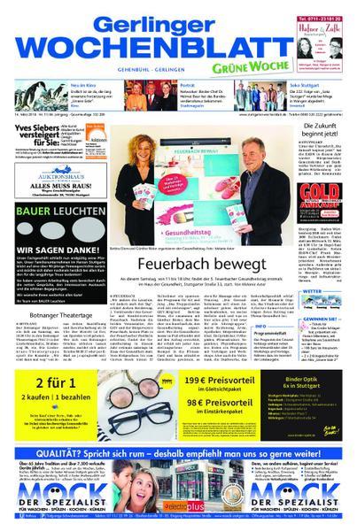 : Gerlinger Wochenblatt 14 Maerz 2018