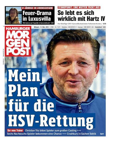 : Hamburger Morgenpost 14 Maerz 2018