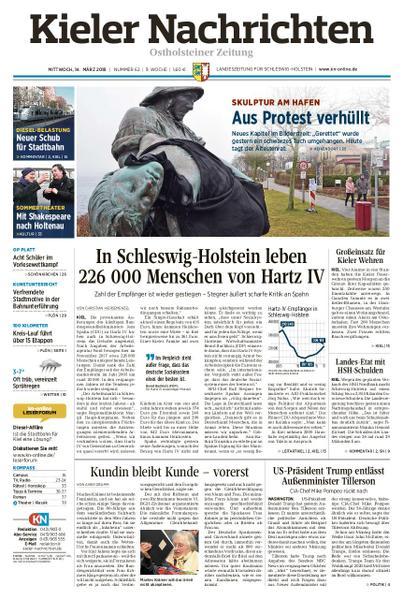 : Kieler Nachrichten Ostholsteiner Zeitung 14 Maerz 2018
