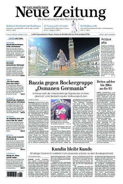 : Gelnhaeuser Neue Zeitung 14 Maerz 2018
