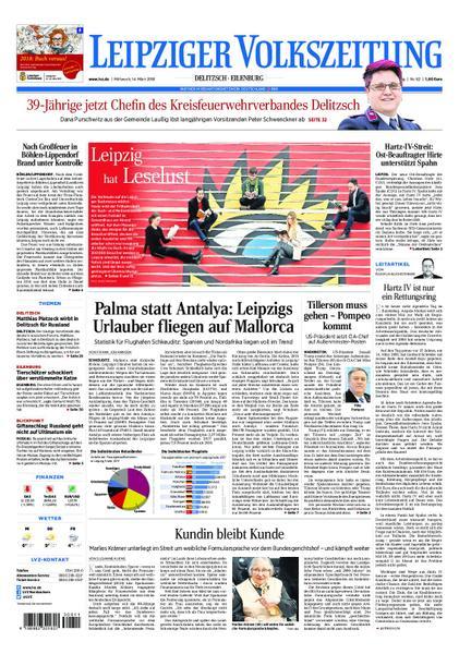 : Leipziger Volkszeitung Delitzsch Eilenburg 14 Maerz 2018