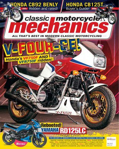 Classic Motorcycle Mechanics May 2018