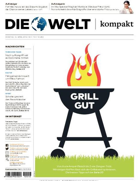 Die Welt Kompakt Berlin 16 April 2018