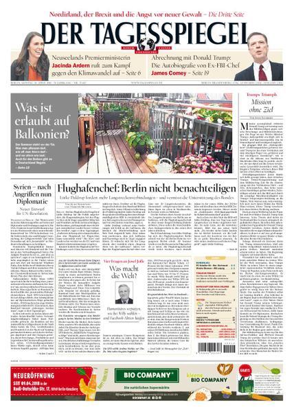 Der Tagesspiegel 16 April 2018