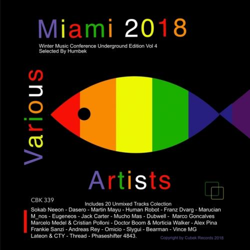 Miami 2018 Winter Music Conference Underground Edition Vol 4 (2018) FLAC