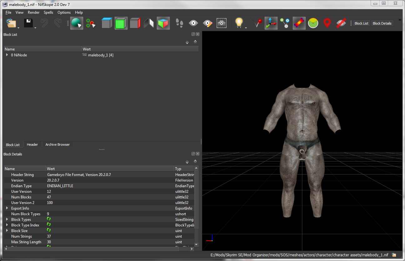 How to edit meshes to work with this mod  - Articles - The