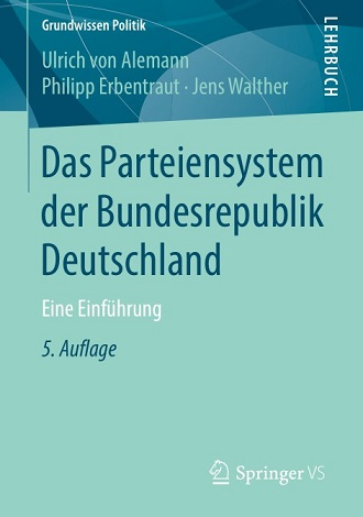 Ulrich von Alemann - Das Parteiensystem der Bundesrepublik Deutschland