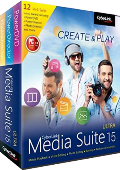 CyberLink Media Suite Ultra v15.0.1714.0