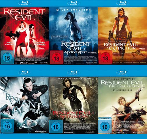 Horror] Resident Evil 1-6 2002-2016 UNCUT German DL 1080p