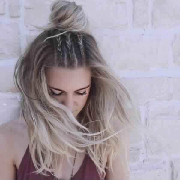Trendy Hairstyles braid 2018 For Wedding Day 1