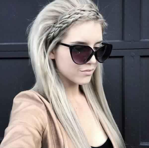 Hairstyles braid 2018