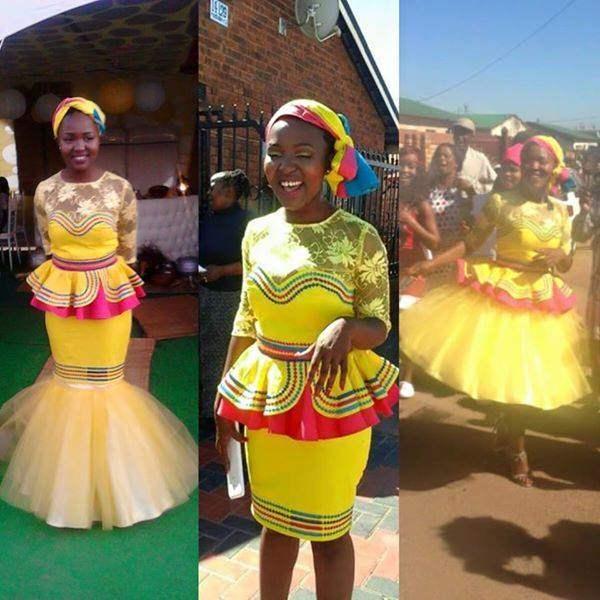 SEPEDI TRADITIONAL DRESSES