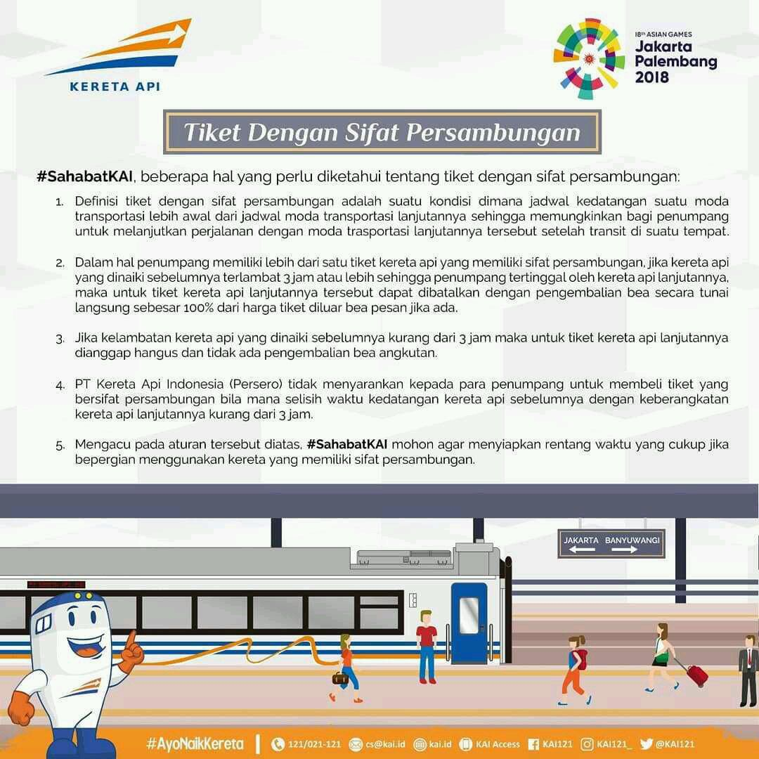 Railfannet Forums How To Train In Indonesia Like Instagram 100 Real Image Courtesy Of Customer Service Indonesian Railway Limited Company Pt Kai Kai121 Taken From Site Viewer Imgrumwebcom