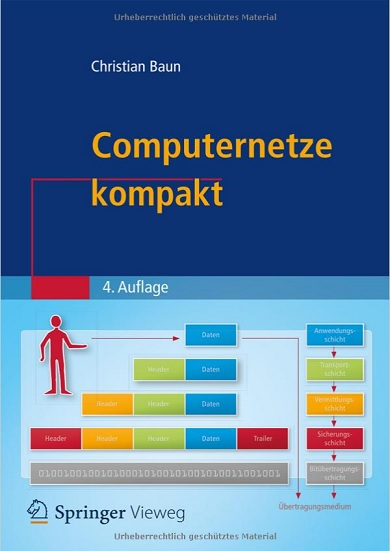 Christian Baun - Computernetze kompakt- Auflage 4