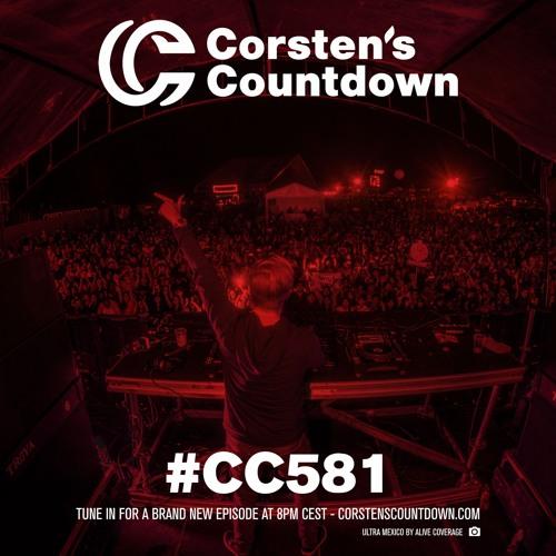 Ferry Corsten - Corsten's Countdown 581 (2018-08-15)