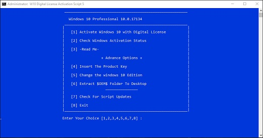 Windows 10 digital license activation script v6 ccuart Choice Image