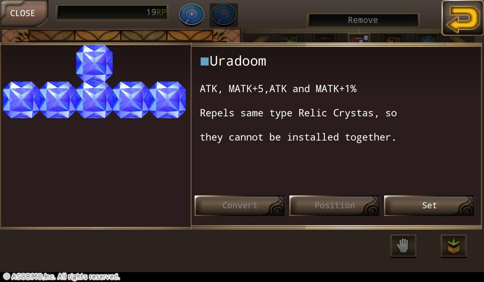 Relic crystas (Guide soon) | Unofficial Iruna & Toram Online