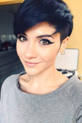 Edgy Pixie With Undercut Sides