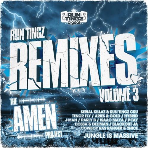 Run Tingz Remixes, Vol. 3 - The Amen Project (2018)