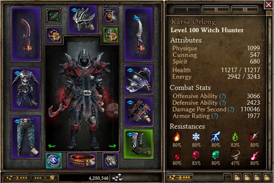 1 0 6 1] Belgothian DW Chaos Melee Witch Hunter - wait, what
