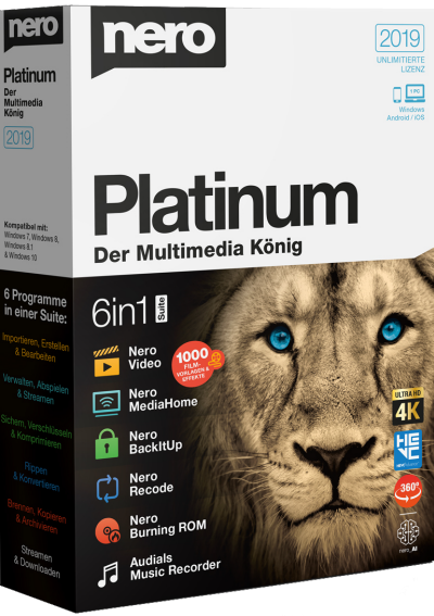 Nero Platinum 2019 Suite v20.0.06500