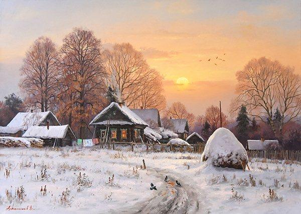 Творчество современного художника Валерия Артамонова