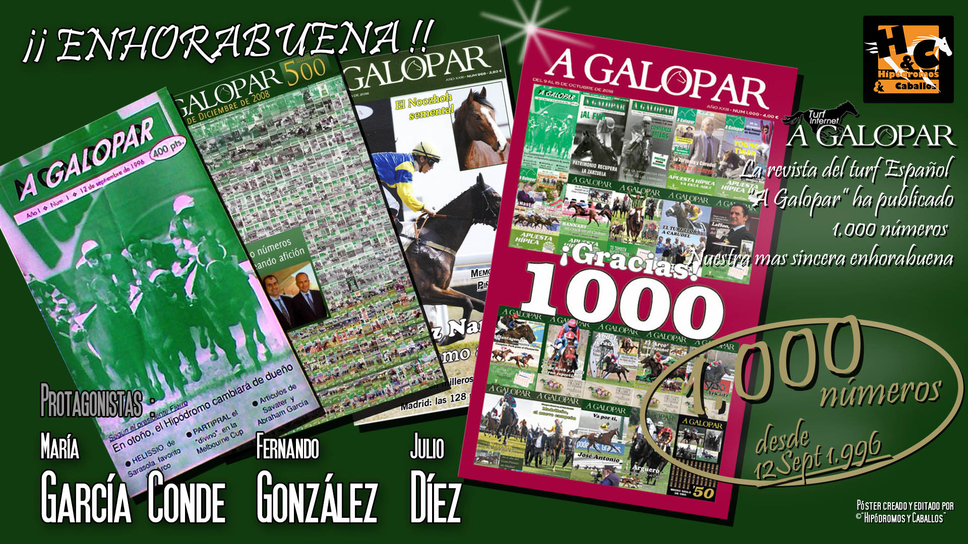 Número 1.000 de la revista A GALOPAR 4lznxw98
