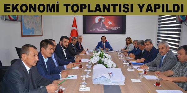 Toplantıda Tarım, Eğitim ve Turizm gibi konular ele alındı