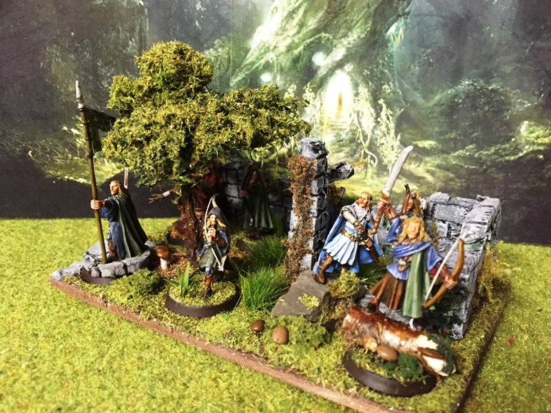 Aragorn et les 5 Armées - Armée de Mirkwood Update Rn2jhpkm