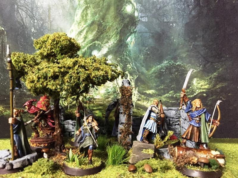 Aragorn et les 5 Armées - Armée de Mirkwood Update Udpver62