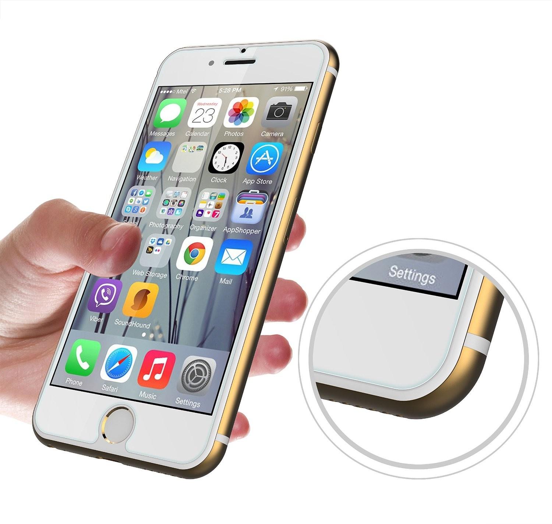 panzerglas apple iphone 6s und 6 schutz folie 9h klar. Black Bedroom Furniture Sets. Home Design Ideas