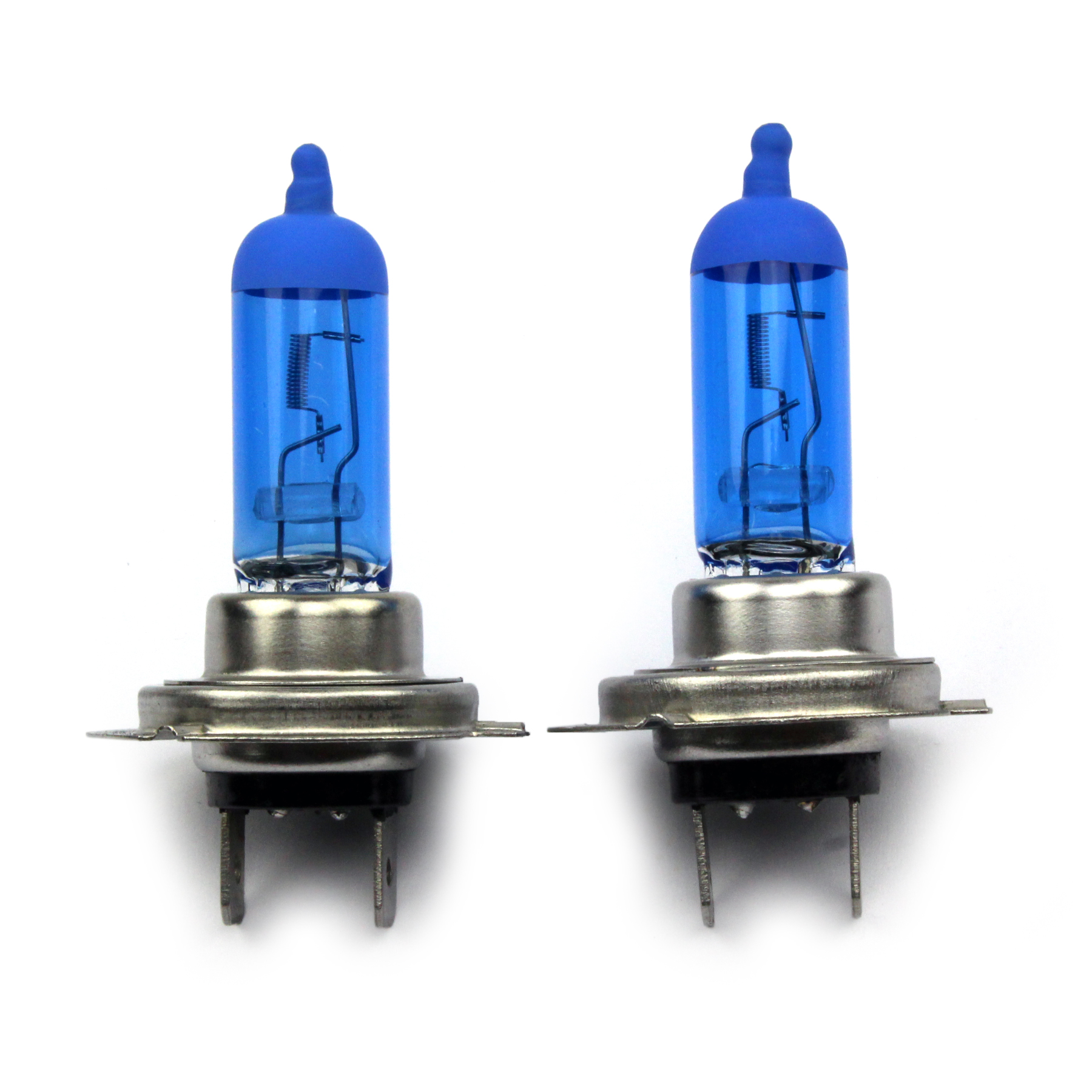 2 x h7 55w blue xenon halogen temperatur 8500k. Black Bedroom Furniture Sets. Home Design Ideas