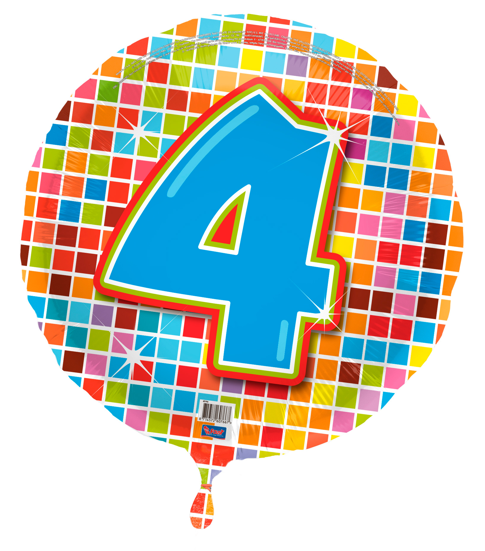 folien luft ballon mit nummer zum kinder geburtstag f r luft oder helium neu. Black Bedroom Furniture Sets. Home Design Ideas
