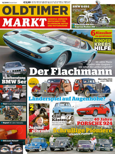 oldtimer markt magazin jahresthema 2016. Black Bedroom Furniture Sets. Home Design Ideas