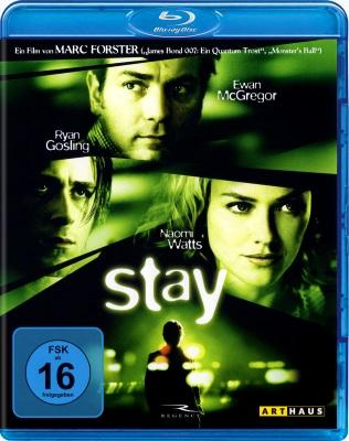 Stay - Nel Labirinto della Mente (2005) .mkv BDRip 720p x264 ITA ENG DTS AC3 Subs