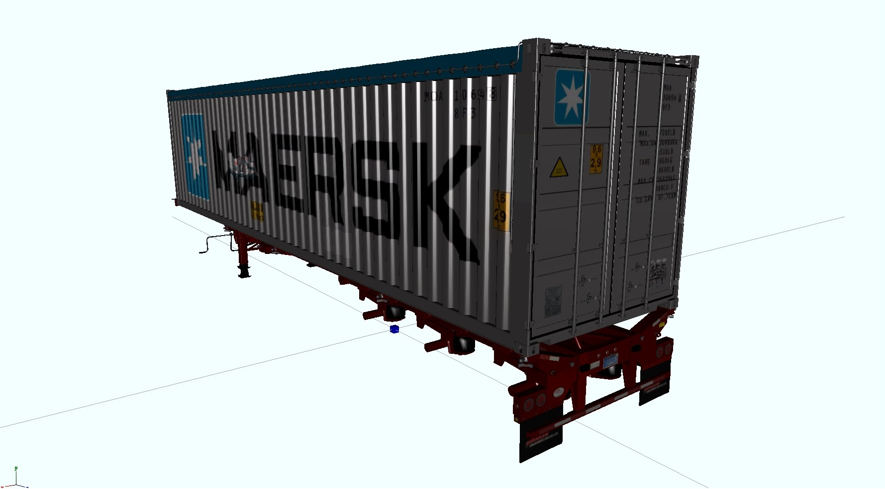Ceetah Trailer Pack für ATS Jtc5z25z