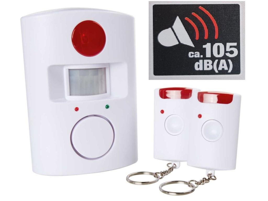 bewegungsmelder mit alarmfunktion melder bewegung alarm sirene sicherheit signal. Black Bedroom Furniture Sets. Home Design Ideas