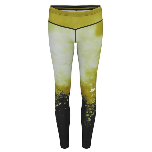... Athletic Ladies Leggings S gold Fitness Pants tights Leggings Woman MP