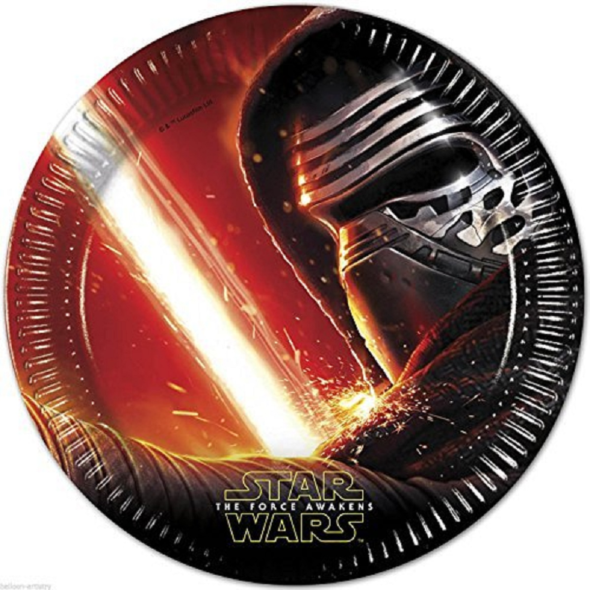 Star Wars Force 8 PAPPTELLER 23 cm F-86210P