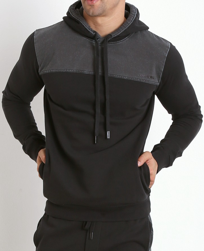 neu diesel herren hoodie kapuzen pullover sweatshirt umlt. Black Bedroom Furniture Sets. Home Design Ideas