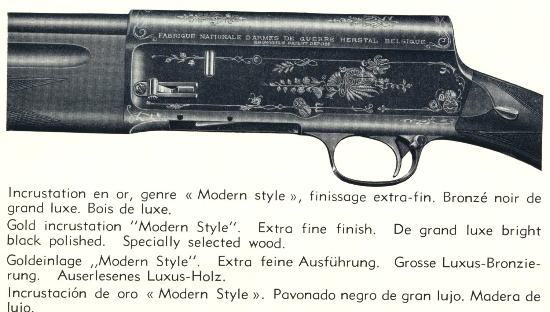Shotgunworld com • Browning A5 pre-war engraving grades