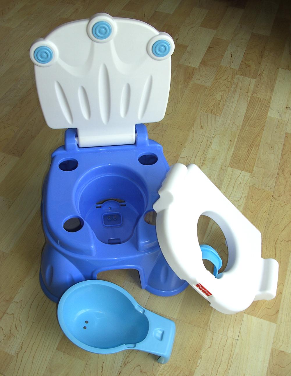 FISHER PRICE 3 in 1 Töpfchen Toilettentrainer Kinder