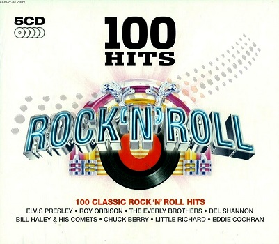 100 Hits - Rock N Roll (5CD)