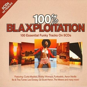 100% Blaxploitation (5-CD)
